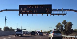 Fast City Slow Commute Center by Commute Times Coming To More Phoenix Area Freeway Message Signs