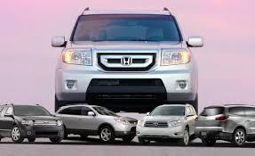 honda pilot size comparison honda pilot reviews honda pilot price photos and specs car