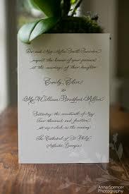 carlton wedding invitations emily brad s wedding the cathedral of st philip ritz