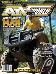atv world summer 2011 issue by on snow magazine atv world