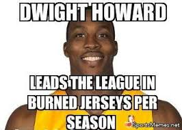 Dwight Howard Memes - dwight howard s jersey meme