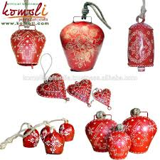 fantastic metal christmas cowbell hand paint wholesale cow bells