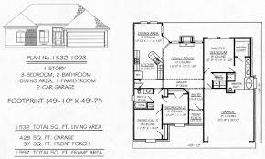 ranch floor plans with 3 car garage stupefying 7 1700 sq ft house plans with 3 car garage under sq