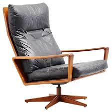 arne wahl iversen swivel lounge chair komfort denmark 1960 for