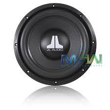 jl audi jl audio 10wxv2 10 single 4 ohm wxv2 series car subwoofer