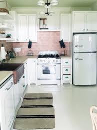 pink kitchen ideas pink tile kitchen kitchen design ideas