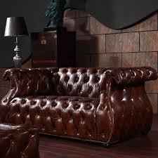 nettoyer canapé cuir maison comment nettoyer canapé cuir canapé américain cuir marron