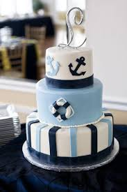 baby shower anchor theme 10 nautical wedding cakes pretty you may not want to eat