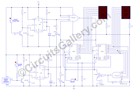 Simple Circuit Diagrams Beginners Heartbeat Monitor Project Circuit With Tachycardia Alarm