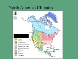 america climate zones map climate regions