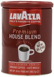 lavazza premium house medium roast blend coffee 10