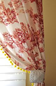 Drapery Fabric Characteristics Curtains Awesome Toile Curtains Richloom Sweet William Toile