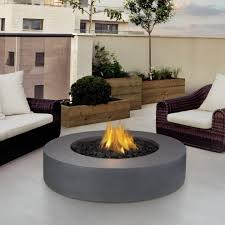 propane fire table ideas patio rustic with round fire pit table