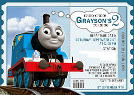 in this crazy life thomas the train birthday party the details