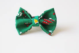 christmas gift bow christmas hair bow green handmade bow green christmas bow