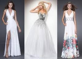 white prom dresses prom night styles