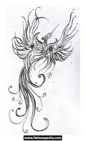 phoenix and lotus flower tattoo designs on sleeve photos