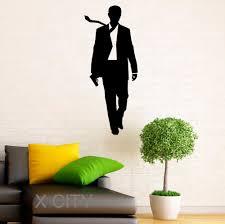 online get cheap room posters teen aliexpress com alibaba group james bond stickers 007 vinyl decal cool movie poster dorm teen design home interior wall art