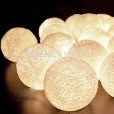 white decorative light balls wanker for