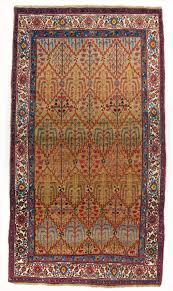 Bidjar Persian Rugs by 4 10 X 9 Antique Persian Bidjar Rug Lattice And Shrub Design Bijar