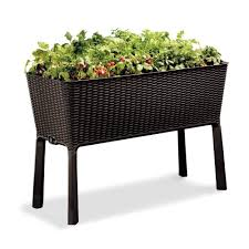 Aldi Garden Furniture Keter Easy Grow Elevated Garden Bed 212157 The Home Depot
