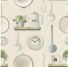 kitchen embossed wallpaper rolls u0026 sheets ebay