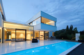 simple houses design with swimming pool with design hd gallery