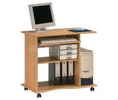 mini bureau computer bureau mini in edel beuken voor uw computer en laptops