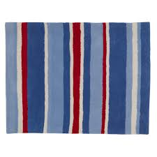 Red And White Striped Curtain Red White And Blue Rug Rug Designs