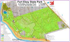 Whidbey Island Map Ft Ebey Score O May 2nd 2010 Orienteering Map From San Diego