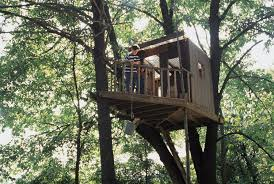 simple backyard treehouse plans