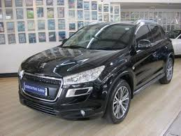 used peugeot suv used peugeot 4008 suv cars for sale on auto trader
