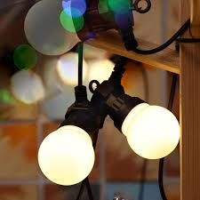 Bulb Lights String by Online Buy Wholesale Outdoor String Globe Lights From China