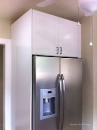 Kitchens Ikea Cabinets Ikea U0027s Over The Fridge Cabinet Kitchens Kitchen Reno And House