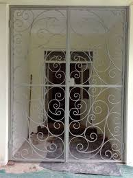 French Security Doors - tpd steel works security gates images