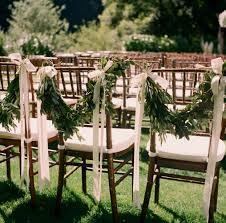 gia canali photography garden wedding ceremony olive leaf garlands