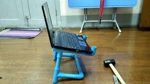 Mine 2 Design Lap Desk Pvc Laptop Stand 5 Steps With Pictures