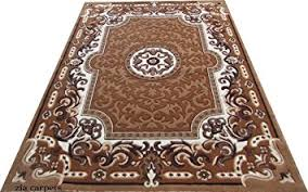 Touch Floor L Buy Zia Carpets Beautiful Floral Design Velvet Touch Floor Carpet