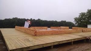 construction show me log homes
