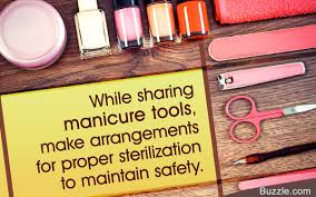 types of manicure tools and tips to clean them