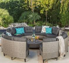 Outdoor Pation Furniture by Best 25 Wicker Patio Furniture Ideas On Pinterest Grey Basement