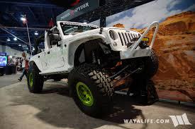 jeep calendar 2017 2017 sema poison spyder jeep jk wrangler unlimited