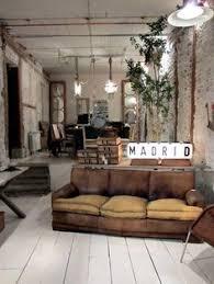Modern Industrial Rustic Living Room Home Design Ideas - Industrial living room design ideas