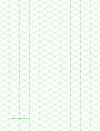 printable isometric paper a4 isometric graph paper