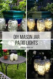 Patio Lantern Lights by Diy Mason Jar Patio Lights Doused In Pink Chicago Fashion