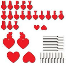 Valentine S Day Yard Decorations by Valentine U0027s Day Candy Heart Yard Decoration Victory Yar Https