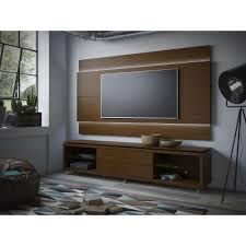 Home Depot Interior Wall Panels Manhattan Comfort Lincoln Nut Brown Storage Entertainment Center 2