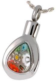 pet cremation jewelry pet cremation jewelry stainless steel glass teardrop