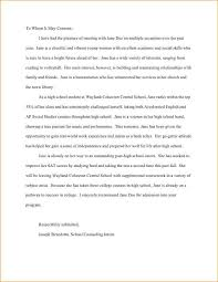 College Letter Of Recommendation From A Family Friend 7 letter of recommendation college student academic resume template