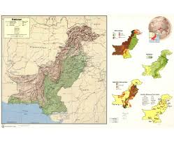 Map Of Pakistan And India by Maps Of Pakistan Detailed Map Of Pakistan In English Tourist